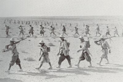 Italian troops invade British Somaliland