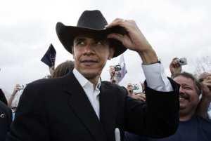 APTOPIX Obama Texas  2008