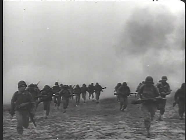 DDay storming beaches