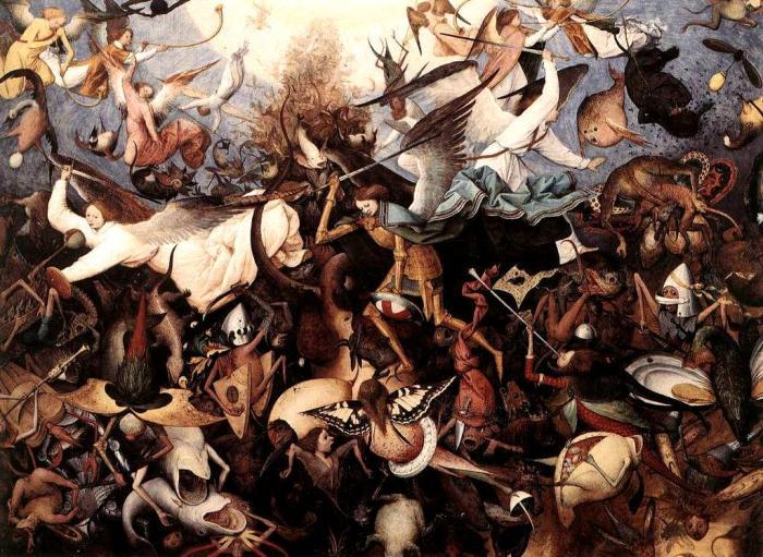 Pieter Bruegel the Elder, The Fall of the Rebel Angels