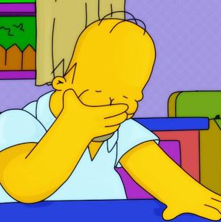 Simpons - Homer Facepalm
