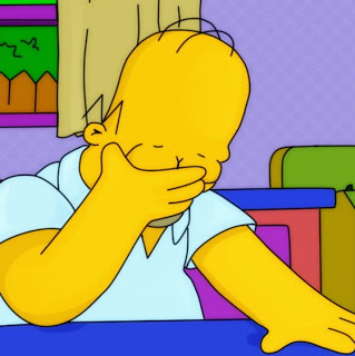 Simpons - Homer Facepalm