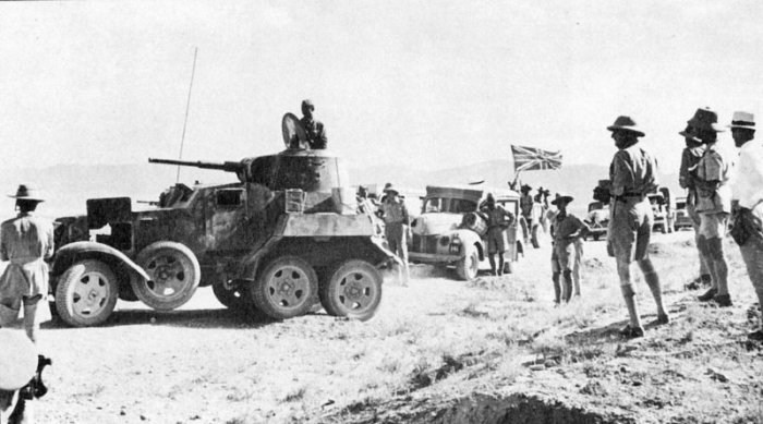 British_supply_convoy_in_Iran,_headed_by_Soviet_BA-10_armored_vehicle
